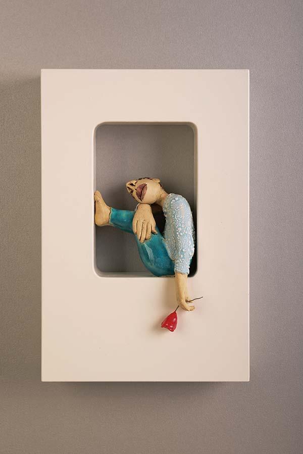 Out of the Box-Wall-Piece – Muurbloempje (20x30cm)